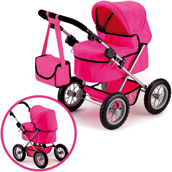 Mein erster Puppenwagen Trendy (Pink)