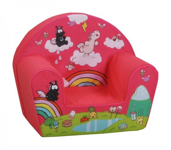 Kindersessel Einhorn Theodor Carbon (Pink)