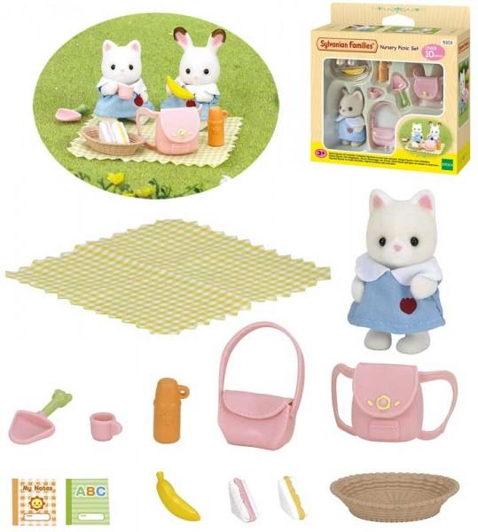 Sylvanian Families Kindergarten-Picknickset mit Figur