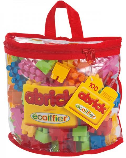 Abrick Tasche mit 100 Bausteinen