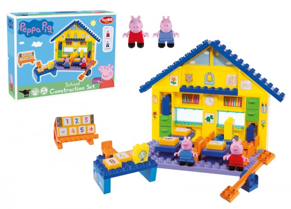 PlayBIG Bloxx Peppa Pig Schule