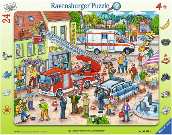 Rahmenpuzzle 110, 112 Eilt herbei mit 24 Teilen