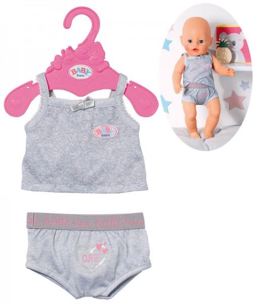 Baby Born Unterwäsche Gr. 43 cm (Silbergrau)