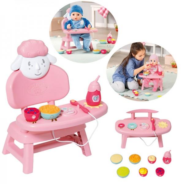 Baby Annabell Lunch Time Tisch mit Licht- und Sound (Rosa)