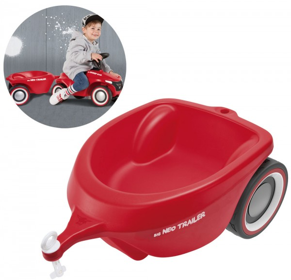 Bobby-Car Neo Trailer Anhänger (Rot)