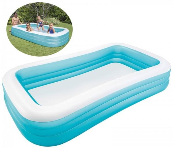 Schwimm-Center Jumbo-Family-Pool 305 cm (Türkis)