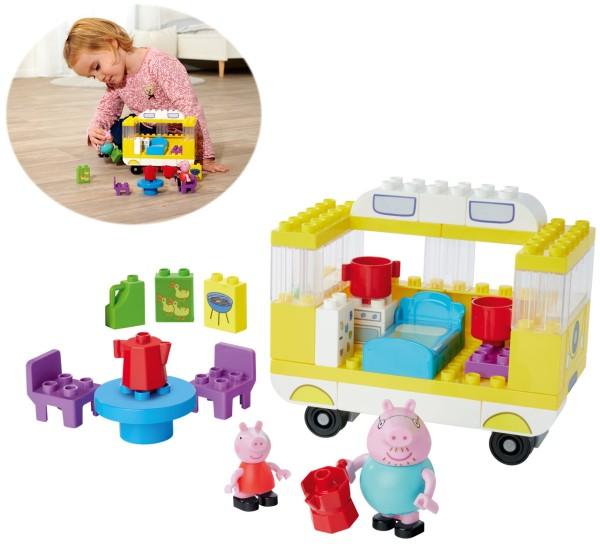 PlayBIG Bloxx Peppa Pig Camper-Van mit Figuren
