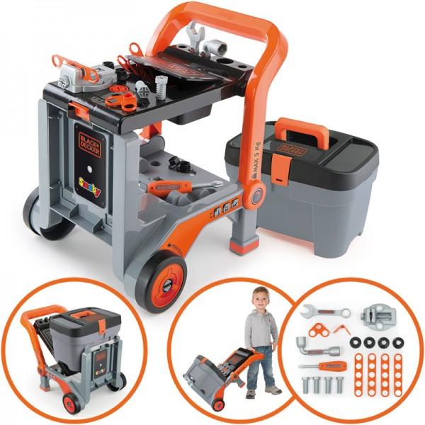 Black & Decker 3in1 Multi-Werkbank und Werkzeugkoffer