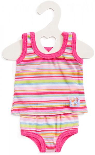 Unterwäsche für Puppen Gr. 35 - 45 cm (Pink)