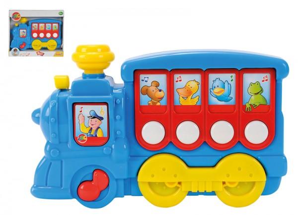 ABC Musiklokomotive (Blau)