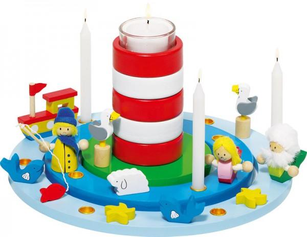 Geburtstagskranz Leuchtturm