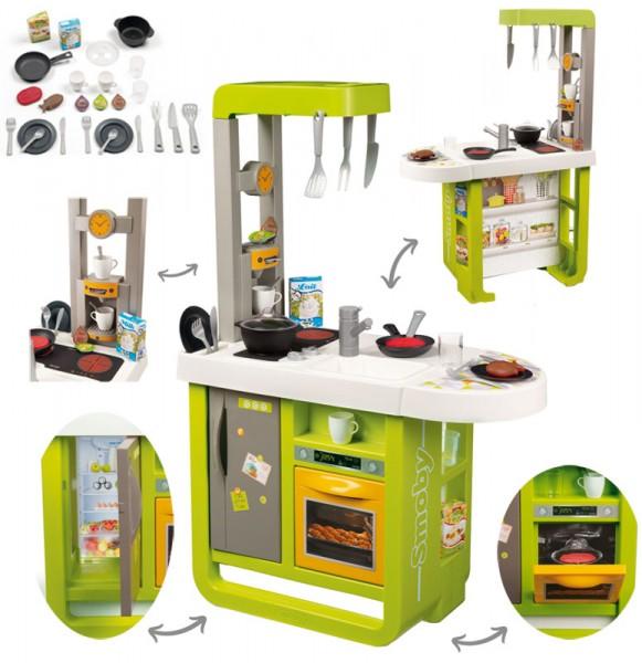 Elektronische Kinderküche Cherry mit Zubehör (Grün)