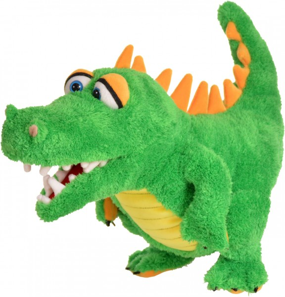 Living Puppets Handpuppe Krokodil Travis 28 cm