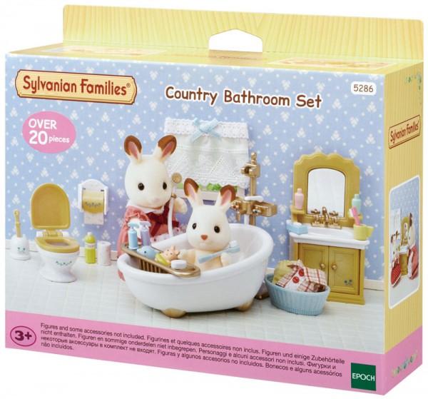Sylvanian Families Badezimmer im Country Stil