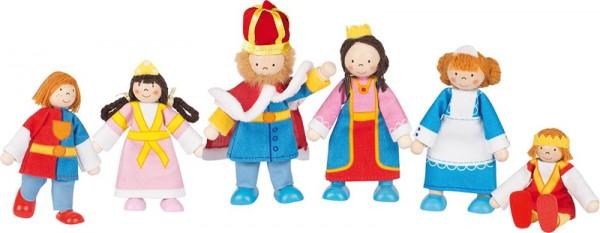 Puppenhaus-Puppen Königsfamilie