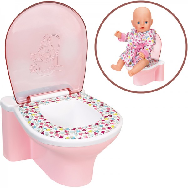 Baby Born Lustige Toilette (Rosa-Bunt)