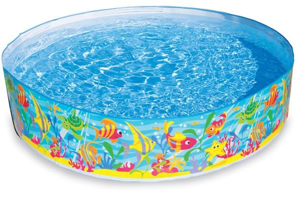 Quick Snap-Pool Fische 183 cm