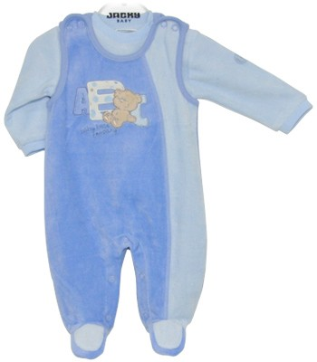 Strampler-Set Nicky Bear Company Boys Gr. 56 (Blau)