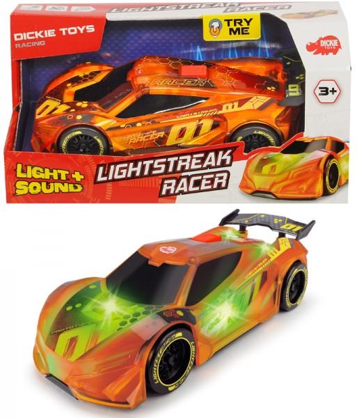 Rennauto Lightstreak Racer mit Friktion und Licht & Sound