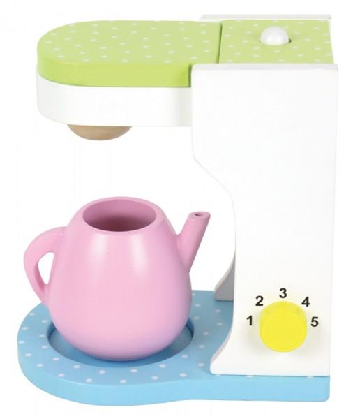 Kaffeemaschine für Kinderküche aus Holz
