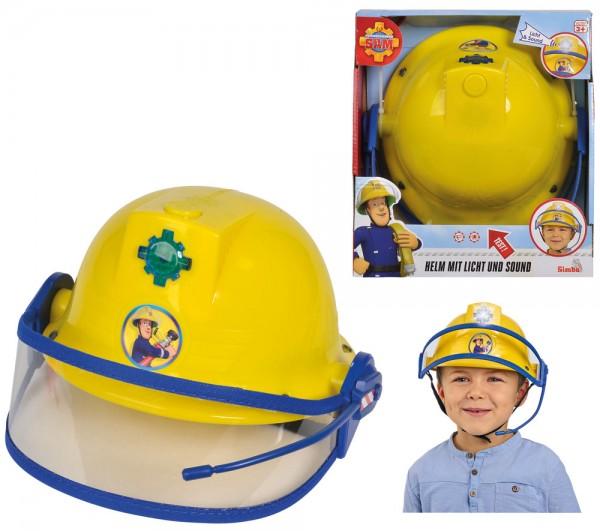 Feuerwehrmann Sam Feuerwehr-Helm mit Licht & Sound