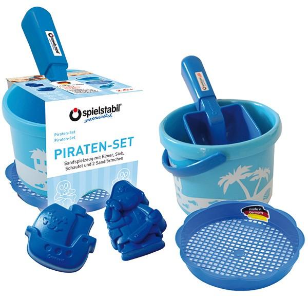 Mein erstes Sandspielzeug Pirat (Blau)