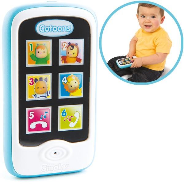 Cotoons Mein erstes Smartphone mit Aufnahmefunktion (Blau)