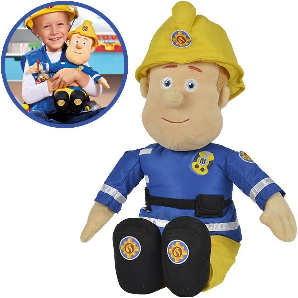 Feuerwehrmann Sam Plüschfigur 45 cm