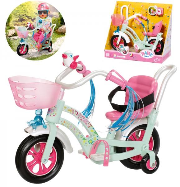 Baby Born Play&Fun Fahrrad (Mint-Bunt)