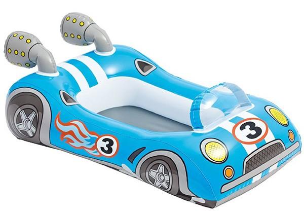 Kinder-Schlauchboot Rennwagen (Blau)