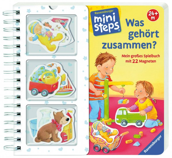 Mini Steps Was gehört zusammen? Spielbuch mit 22 Magneten 24+ M