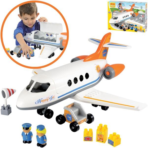 Abrick Flugzeug Happy Jet