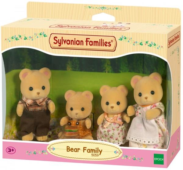 Sylvanian Families Bären Familie Pelzig