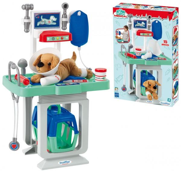 Meine erste Tierarzt-Klinik mit Röntgen-Station (Mint-Blau)