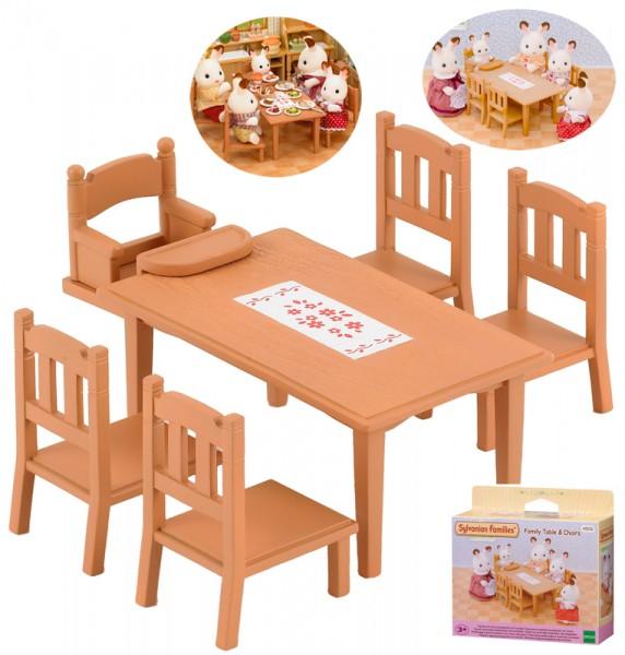 Sylvanian Families Möbelset Esstisch für die ganze Familie