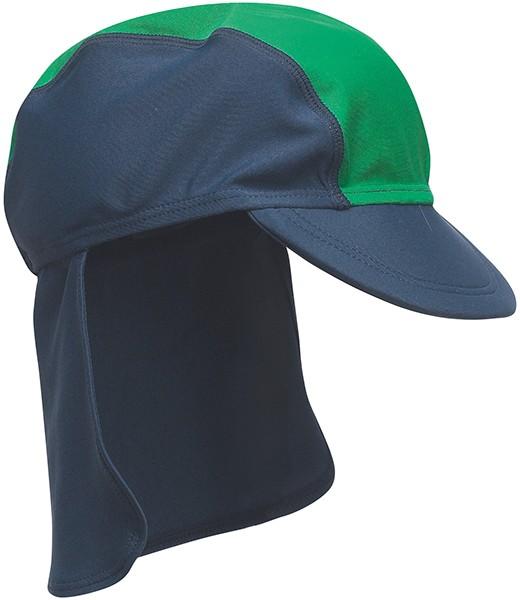 UV-Schutz Mütze 51 cm (Blau-Grün)