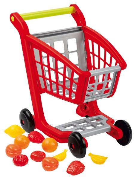 Einkaufswagen mit Obst & Gemüse