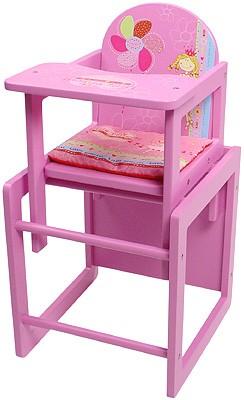 Puppenhochstuhl Little Princess (Pink)