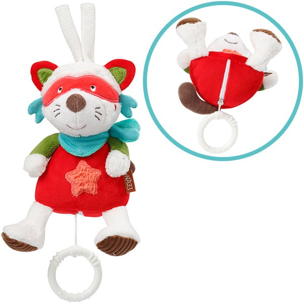 Jungle Heros Mini Spieluhr Waschbär (Guter Mond)