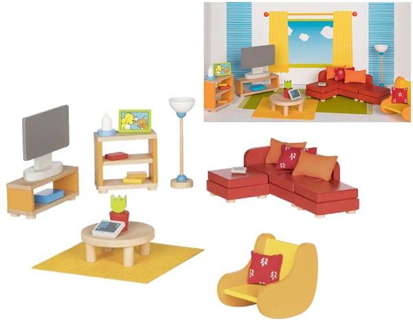 Puppenhausmöbel Modernes Wohnzimmer