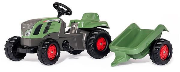 RollyKid Fendt 516 Vario Traktor mit Anhänger (Grün)