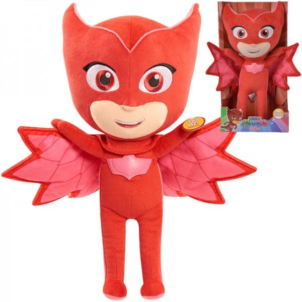 PJ Masks Funktionsplüsch Eulette 35 cm (Rot)