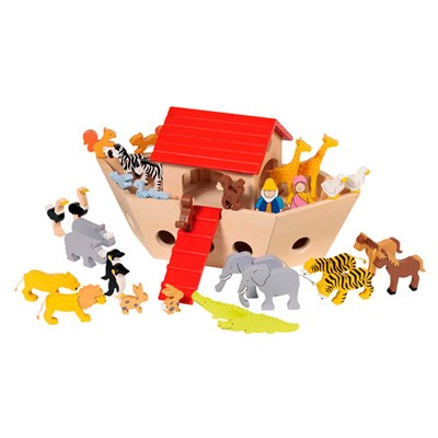 Arche Noah aus Holz
