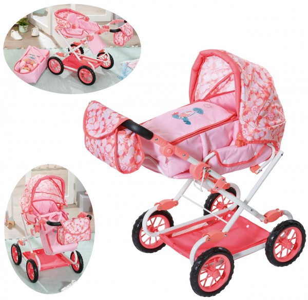 Baby Annabell Active Deluxe Puppenwagen (Rosa-Pink)