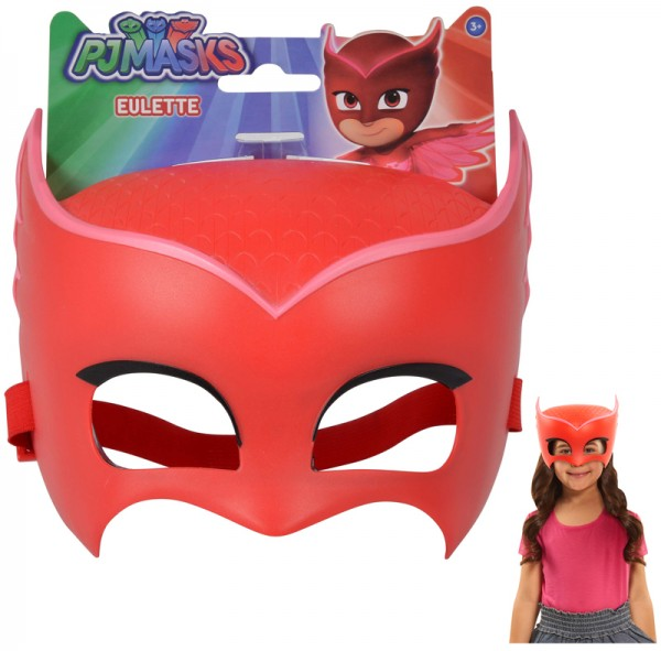 PJ Masks Maske Owlette (Rot)
