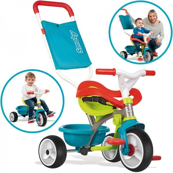 Dreirad Be Move Comfort Pop II (Petrol-Grün)