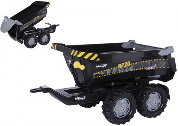 RollyTrailer Krampe HP20 Anhänger Halfpipe (Schwarz)