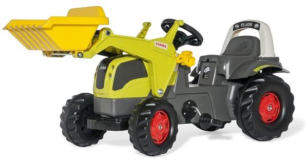 RollyKid Claas Elios Traktor mit Lader (Grün)
