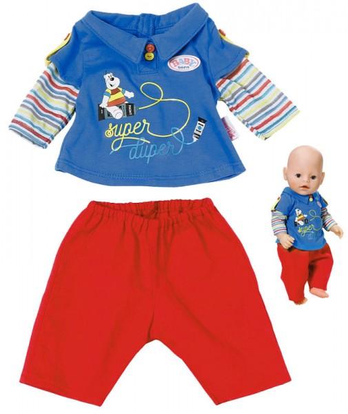 Baby Born Jungs Kollektion 43 cm (Blau-Rot)