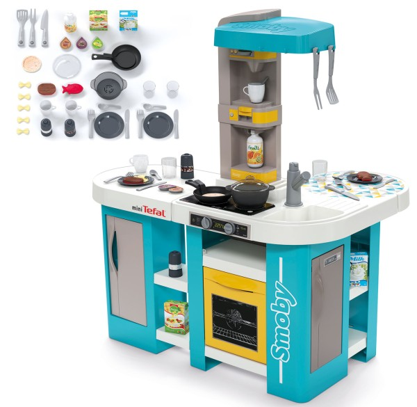 Mini Tefal Elektronische Studio XL Bubble Küche (Türkis)